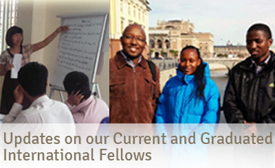 Updates on our Current and Graduated International Fellows