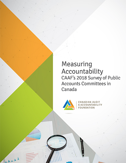 Measuring Accountability: CAAF's 2018 Survey of Public Accounts Committees in Canada