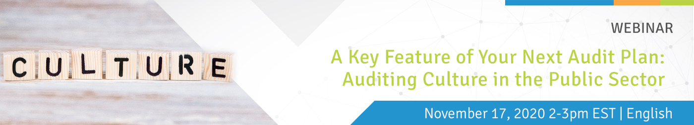 A Key Feature of Your Next Audit Plan: Auditing Culture in the Public Sector